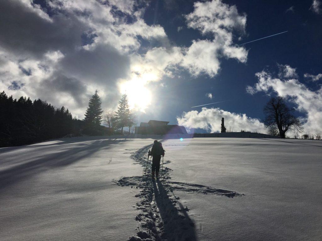 Rennfeld (1 629 m) von Frauenberg aus « im muerztal